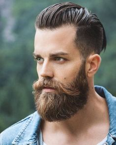 Growing a full-bodied beard is one of the most satisfying things a man can do. Unfortunately, many would-be hirsute men hesitate to grow beards of their own because they're worried about beard itch. Long Beard Styles, Beard Styles For Men, Hair And Beard Styles, Viking Beard Styles, Faded Beard Styles, New Beard Style, Mens Hairstyles With Beard, Hipster Hairstyles Men, Wet Hairstyles