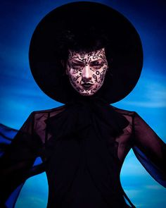 This Lovely Gothic Fashion Photography Series Has a Desert Setting #gothic #fashion trendhunter.com
