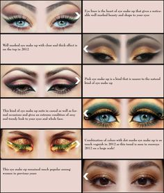 Eye liner is the heart of eye make up