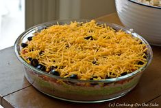Recipe: 7-Layer Dip   Cooking On the Side