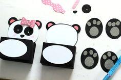 My Daughter Maggies Cutie Panda Valentines Box