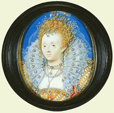 Queen Elizabeth I Miniature by Nicholas Hilliard. © The Royal Collection. Hans Holbein The Younger, Royal Monarchy, British Monarchy, Anne Of Cleves, Lady Elizabeth, Royal Collection Trust, Queen Pictures, Plantagenet, Miniature Portraits