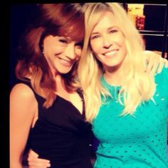 Kathy Griffen and Chelsea Handler