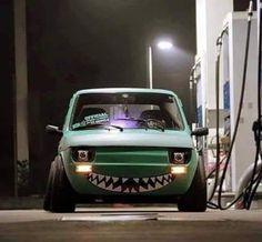 Retro Cars, Vintage Cars, Fiat 126, Hobby Cars, Fiat Panda, Fiat Abarth, Car Memes, Tuner Cars, Mini Trucks