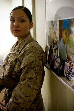 Mother, Marine, more; one woman's sacrifice while deployed