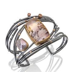 Twig Cuff, one of a kind by Sydney Lynch, exclusively at Spectrum Fine Jewelry