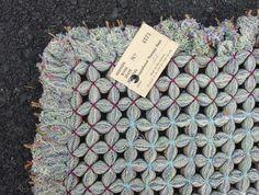 folk art hand woven rug