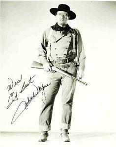 John Wayne, standing tall as always!
