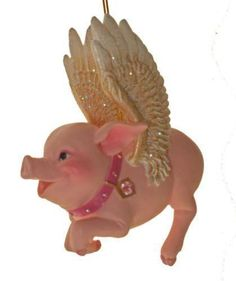 Flying Pig Ornament | eBay