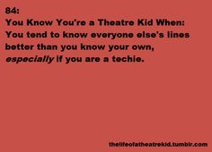 OR ASSISTANT DIRECTOR. I could have done the whole show of Hello Dolly alone, y'all.
