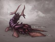 Monster No. 004 by Onehundred-Monsters on deviantART