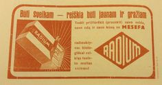 A vintage Lithuanian press ad from 1933 for radioactive soap Radium