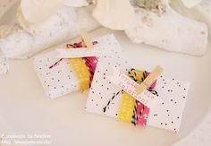 Stampin Up - Goodies - Give Away - Box - Schachtel - Verpackung - Stanz und Falzbrett für Umschläge - Envelope Punch Board - Stempelset Kein Geburtstag ohne Kuchen ☆ Stempelmami