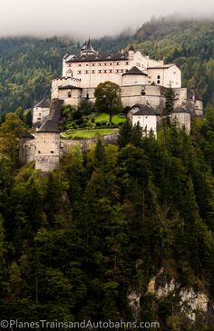 Hohenwerfen Is Not Your Average Castle - click through to see all that it offers!
