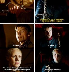 Jaime and Brienne | Game of Thrones