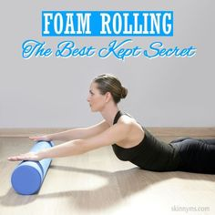 I LOVE foam rolling after a good leg day!  It is seriously the best kept secret for anybody involved in fitness.  #foamrolling #tips #workouts