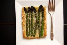 asparagus tart by joy the baker, via Flickr