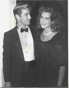 Michael Ives and Brooke Shields at the International Center of Photography's 10th Annual Gala in Manhattan on November 8, 1984. The gala that year honoree Life magazine photographers including Gordon Parks, Yousuf Karsh, and Alfred Eisenstadt.