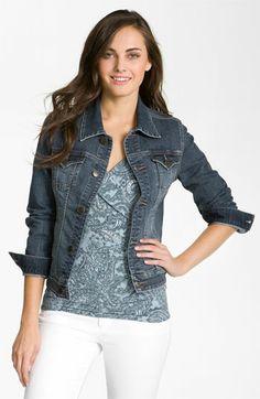 Jag Jeans 'Rupert' Denim Jacket (Petite)   Nordstrom