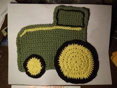 John Deere Hand crocheted Dishcloth