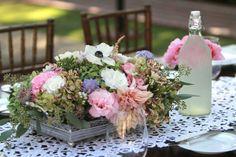 Silver Tray Garden Centerpieces | Flickr - Photo Sharing!