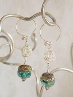Caribbean Silver Earrings
