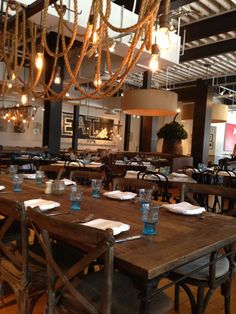 Searsucker's New American cuisine features modern twists on classic dishes in a super cool ambience.