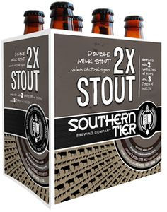 "Southern Tier 2xStout - One ad for a Milk Stout from the early 1900s claimed it was ""ideal for nursing mothers. the healthy, the invalid, and the workers!"""