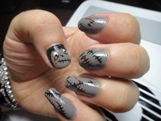DIY halloween nails: DIY Halloween nail art : Halloween Nails Art Inspiration