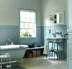 salle de bain: ambiance vert eau