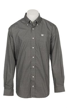 Slim-Fit Long-Sleeve Two-Pocket Twill Shirt Camicia Sportiva Uomo Essentials