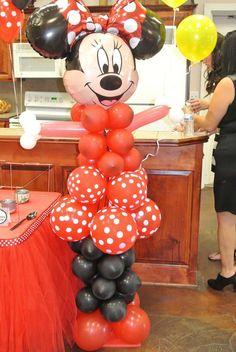 Mya's Minnie Mouse Extavaganza  | CatchMyParty.com