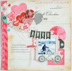 S-photo time: Crate Paper:scrapbook page