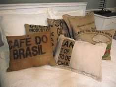 Coffee bag, I was just thinking about trying these yesterday and here they are!