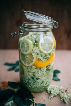 Do you like elderflower flavoured drinks? I'm on pins and needles awaiting the beginning of its blooming season, so I can make Hung'. Summer Drinks, Cocktail Drinks, Cocktail Recipes, Alcoholic Drinks, Beverages, Fancy Drinks, Elderflower Cordial, Flower Food, Wild Edibles