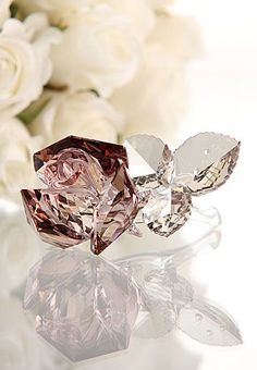 Swarovski Crystal Rose ♥
