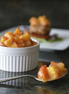 Paleo Peach Mango Ginger Chutney Stupid Easy Paleo - Easy Paleo Recipes to Help You Just Eat Real Food