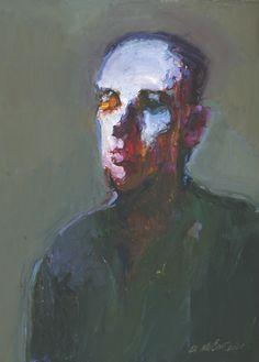 MCCAW FINE ART - Dan McCaw - Head Study