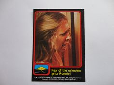 # 8 Close Encounter Of The Third Kind Card Collection