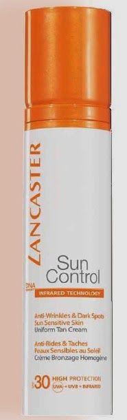 Fashionista Smile: Lancaster: Sun Control - Abbronzatura Anti-età - Estate 2014