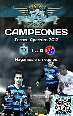 @T4FC TEAMFOURIANOS: T4 Fútbol Club Campeón Apertura 2012