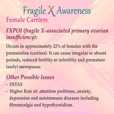fragile x syndrome diagnosis treatment and research pdf