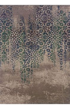 $5 Off when you share! Oriental Weavers Kaleidoscope 504 Blue Rug | Contemporary Rugs #RugsUSA