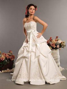southern belle wedding dress, embroidered wedding dress