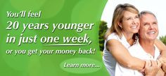 Feel 20 years younger in 1 week, or money back! with DMG -Silver Edge=Steve Barwick-10-15 $27.95 -- $19.95/ bottle