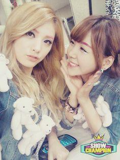Nana and Raina