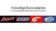 Conny's kleine Wunderwelt: Freiwilliger Rückruf von Schokoladenprodukten durc...