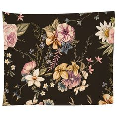 Victorian Flora Tapestry