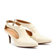 mytheresa.com - Balenciaga - CUT-OUT-PUMPS AUS LEDER - Luxury Fashion for Women / Designer clothing, shoes, bags