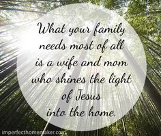 Shine the light of Jesus into your Home!